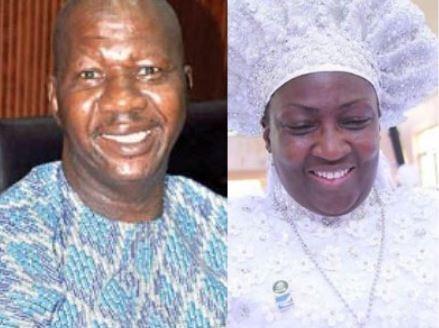 Reverend Mother Esther Abimbola Ajayi donates N10M to ailing Yoruba actor, Baba Suwe (Screenshot)
