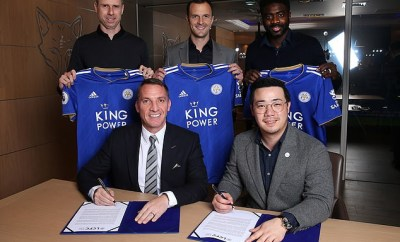 Ex-Liverpool coach Brendan Rodgers becomes new boss of Leicester City on three-and-a-half year contract (Photos)