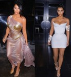 Photos: Kim Kardashian Rocks Stunning Thierry Mugler Dresses To His Exhibit Opening Party in Montreal