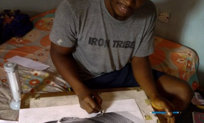 Kevin Hart reaches out to Nigerian boy who did a drawing of him