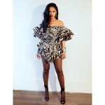 PHOTOS: Rihanna Rocks Sexy Leopard Ruffle Mini Dress To Beyoncé And Jay-Z's Oscars After-Party