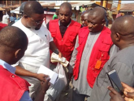Photo: House of Assembly contestant arrested in Ogun  for vote buying