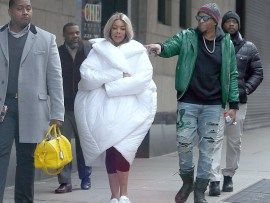 Wendy Williams spotted out and about with her husband Kevin Hunter (Photos)