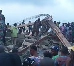 A Building Has Collapsed in Ibadan, Two Days After The Tragic Experience in Lagos Island