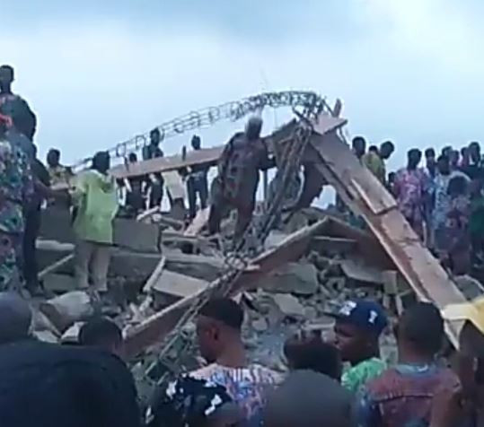 Breaking: A building has collapsed in Ibadan, two?days after the tragic experience in Lagos