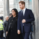 Prince Harry And Meghan Markle Visit New Zealand House in London To Sign Condolence Book Following Christchurch Mosque Shooting