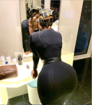 Actress Princess Shyngle Flaunts Her Massive Backside in New Photo