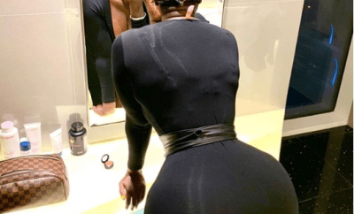 Actress Princess Shyngle flaunts her massive backside in new sultry photo