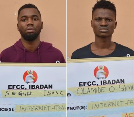 Polytechnic student, two others jailed four months for Internet fraud in Ibadan