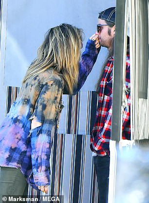 Paris Jackson packs on the PDA with beau Gabriel Glenn after denying attempted suicide reports (Photos)