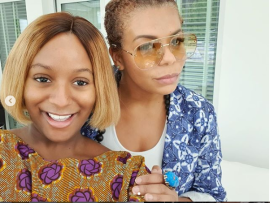 DJ Cuppy shares new glowing photos with her beautiful mom Nana Otedola