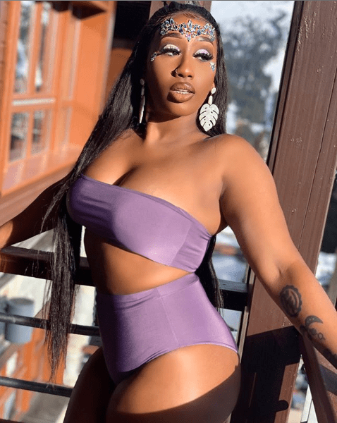 Victoria Kimani shows off her hot body in sexy two-piece (Photos)