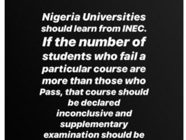 Nigerian Universities should learn from INEC how to declare examination results inconclusive - Dino Melaye