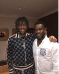Football Legend, JayJay Okocha And His Nephew Alex Iwobi