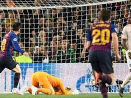 Messi scores for Barcelona