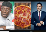 Mixed Reactions Follow As Trevor Noah Trolls Minister of Agriculture, Audu Ogbeh Over His Pizza Comment [Screenshots]