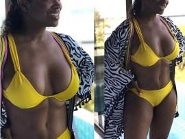 Reality star Kandi Burruss flaunts her hot bikini body during Thailand vacation with her husband ?Todd Tucker (Photos)