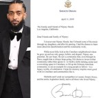 'I Never Met Nipsey, But I Heard His Music Through My Daughters' - Here's Barack Obama's Touching Tribute To The Late Rapper