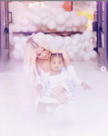Khloe Kardashian Shares More Beautiful Photos From Her Daughter True Thompson's First Birthday Bash [Photos]