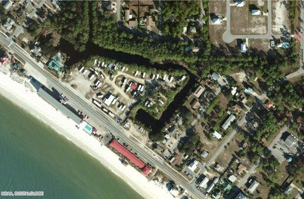 Mexico Beach before Hurricane Michael