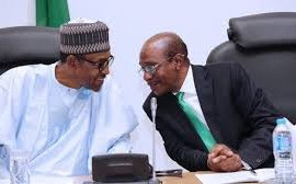 President Buhari nominates Godwin Emefiele for Second Term as CBN Governor