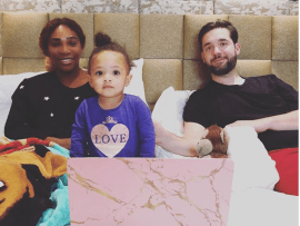 Serena Williams shares adorable family photo to celebrate Mother
