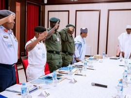 We are not planning to overthrow Buhari - Nigerian Military
