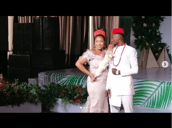 More photos from the traditional wedding of Super Eagles and Leicester City midfielder, Wilfred Ndidi