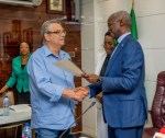 25-Years After, FG Fulfils Pledge To Give A House To Former Super Eagles' Coach, Clemens Westerhof