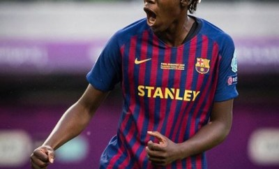 Asisat Oshoala joins Barcelona ladies on permanent basis, pens three-year contract till 2022