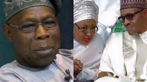You have done well but also have a pillow talk with your husband - Obasanjo tells Aisha Buhari