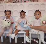 Check Out These Incredibly Cute Photos of Chicago West, True Thompson & Stormi Webster Posing Together