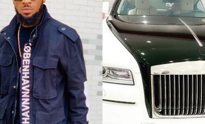 Singer Dbanj gifts himself brand new Rolls Royce for his birthday