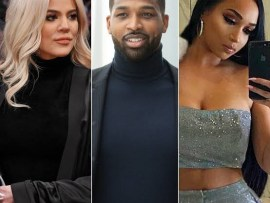 Khloe Kardashian reacts to reports accusing her of cheating with Tristan while his ex was pregnant