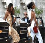 Malia And Sasha Obama Join Dad Barack Obama For A Father's Day Meal