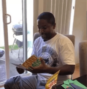 Viral video shows stepfather