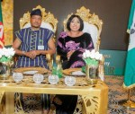 Photos: Quilox Night Club Boss, Shina Peller's Wife Organises Surprise Inauguration Dinner For Him As He Becomes A House of Reps Member