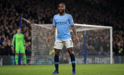Manchester City and England's Raheem Sterling