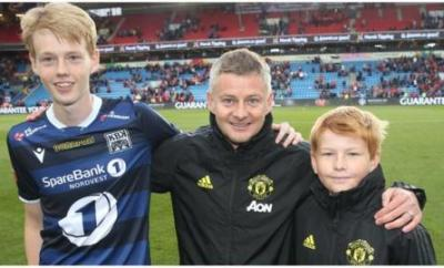 The Solskjaer family