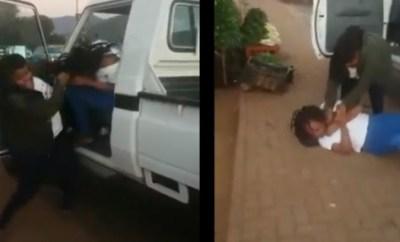Angry wife beats up husband
