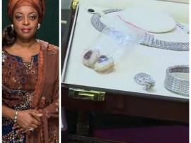 EFCC shares photos of jewelry seized from Diezani Alison-Madueke