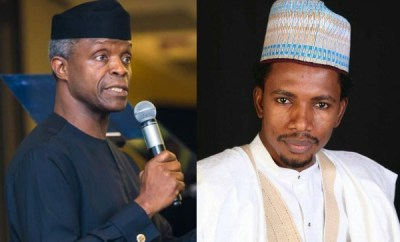 It is despicable to slap women - VP Osinbajo says