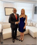 Nigerian Billionaire Businessman, Tony Elumelu Meets With Ivanka Trump At The White House