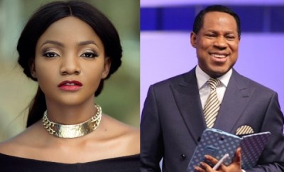 """You are weaponizing the Bible"" - Simi reacts to Pastor Chris Oyakhilome"