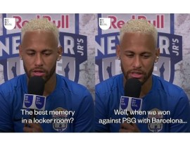 Neymar mocks his own club, says beating PSG ?6-1 when he was with Barcelona is his favourite moment on the pitch?