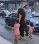 Nadia Buari Shares Rare Photos of Herself, Husband And Their Beautiful Children Enjoying A Stroll