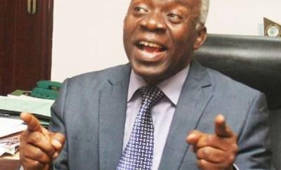I am not Timi Dakolo?s lawyer ? Femi Falana reacts to media reports