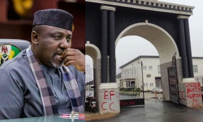 Why we sealed properties allegedly owned by Okorocha and his family members ? EFCC