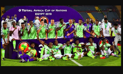 Nigeria now 33rd in the world after moving 12 spots on FIFA ranking