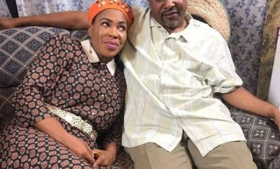 13-years after their crashed marriage, Faithia Williams features her ex-husband, Saidi Balogun in new movie (Photos)